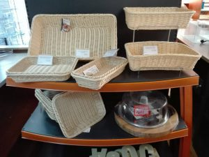 Baskets made of poliratan
